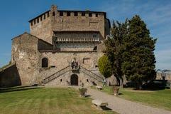 замок Италия северная стоковое фото rf