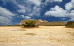 замок Италия Сицилия syracuse стоковая фотография