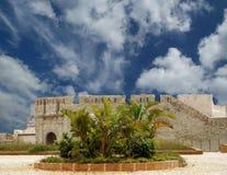 замок Италия Сицилия syracuse стоковые изображения rf