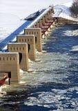 Замок и запруда 11 Dubuque Айова Стоковые Фото