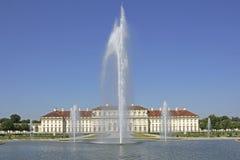 Замок и парк Schleißheim около Мюнхена, Баварии Стоковые Изображения RF