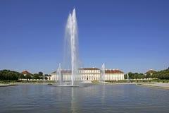 Замок и парк Schleißheim около Мюнхена, Баварии Стоковые Фото