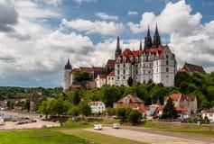 Замок и собор Meissen Стоковые Изображения