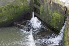 Замок канала Стоковая Фотография RF