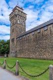 Замок Кардиффа Стоковое Изображение