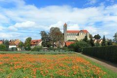 Замок Кведлинбурга стоковые изображения rf
