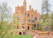 Замок Колорадо-Спрингс Eyrie Глен стоковое изображение