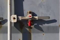 Замок контейнера Стоковые Фотографии RF