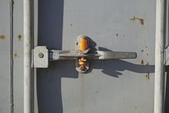 Замок контейнера Стоковые Изображения RF