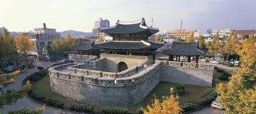 замок Кореи стоковое фото rf