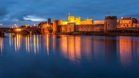Замок короля Джона, Ирландия стоковое изображение