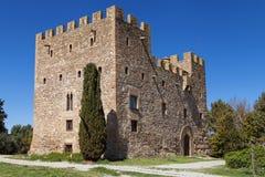 Замок Ла Rapita Стоковое фото RF
