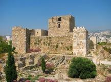 замок Ливана кирпича старый Стоковая Фотография