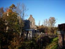 Замок Ливонии стоковая фотография