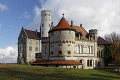 Замок Лихтенштейна Стоковые Изображения RF