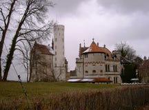 Замок Лихтенштейна Стоковое Изображение RF