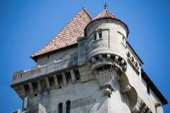 Замок Лихтенштейн, Австрия Стоковое Изображение
