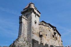 Замок Лихтенштейн, Австрия Стоковая Фотография