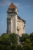 Замок Лихтенштейн, Австрия Стоковые Фото