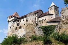 Замок Лихтенштейн, Австрия Стоковые Изображения