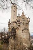 Замок Лихтенштейн, Германия Стоковая Фотография