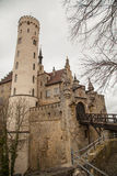 Замок Лихтенштейн, Германия Стоковое Фото