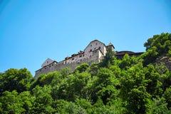 замок Лихтенштейн vaduz Стоковое Фото