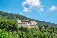 замок Лихтенштейн vaduz Стоковое фото RF