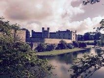 Замок Лидс, Кент, Англия Стоковое Изображение RF