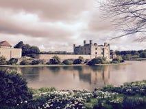 Замок Лидс, Кент, Англия Стоковое Изображение