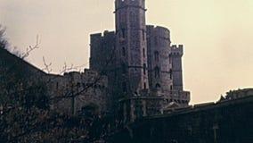 Замок Лондона Виндзор акции видеоматериалы
