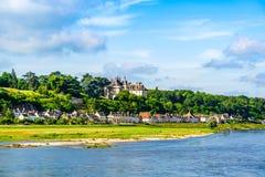 Замок Луары sur Chaumont, Loire Valley, Франция стоковые фото