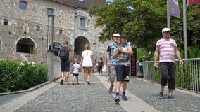 Замок Любляны акции видеоматериалы