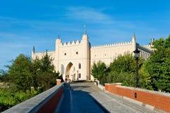 Замок Люблина Стоковая Фотография RF
