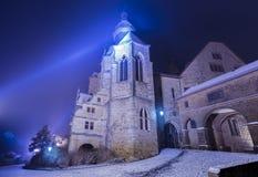 Замок Марбурга стоковая фотография