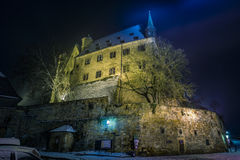 Замок Марбурга стоковые фото