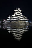 Замок Мацумото-Джо Мацумото, замки в easthern Хонсю, Мацумото-shi японского премьер-министра исторические, зона Chubu, Nagano Стоковые Изображения