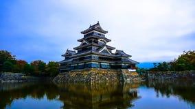 Замок Мацумото старый в Nagano Стоковые Фото