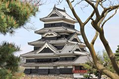 Замок Мацумото Стоковое Изображение RF