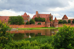 Замок Мальборк, Польша Стоковое Изображение RF