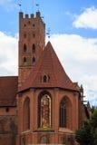 Замок Мальборк, Польша Стоковые Фото