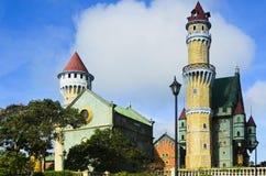 Замок мира фантазии Стоковое Изображение RF