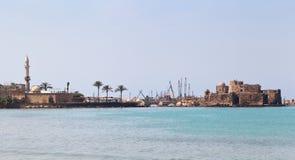 Замок моря Sidon, Ливан Стоковая Фотография