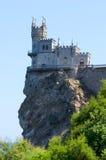 Замок на верхней части Стоковые Изображения
