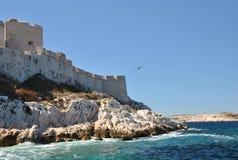 Замок на ЕСЛИ остров Стоковое Изображение RF