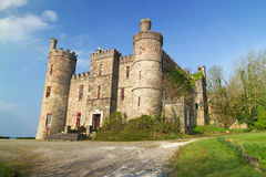 Замок на западном побережье Ирландии Стоковая Фотография RF