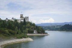 Замок на реке Dunajec Стоковое Изображение RF