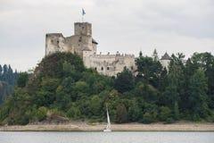 Замок на реке Dunajec Стоковые Фото