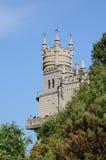 Замок на утесе Стоковые Изображения