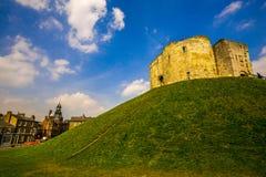 Замок на холме Стоковое фото RF